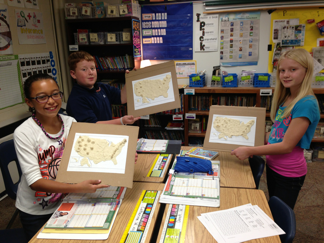 US Physical Maps - Mrs. Martin's 4th Grade Cl on